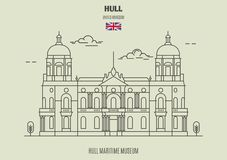 Hull Maritime Museum In Kingston Upon Hull, UK. Landmark Icon Stock Photography