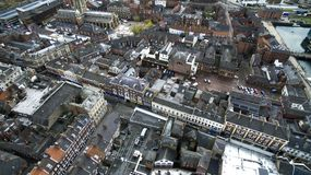 Hull Minster, Trinity church, Market Place, Kingston Upon Hull Stock Photos