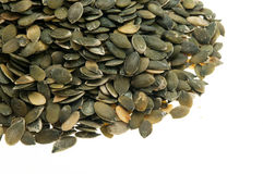 Hulled pumpkin seeds Royalty Free Stock Photography
