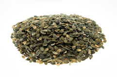 Hulled pumpkin seeds Royalty Free Stock Image