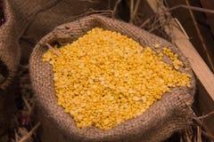 Hulled split mung bean Royalty Free Stock Photo