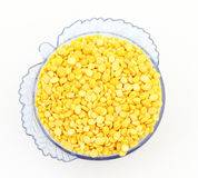 Hulled-split mung bean Royalty Free Stock Photography
