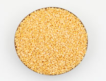 Hulled-split mung bean Royalty Free Stock Image