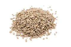 Hulled sunflower seeds Stock Photos