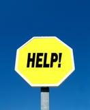 Hulp! Stock Fotografie
