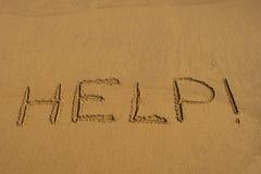 Hulp! stock afbeelding