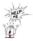 hulp stock illustratie