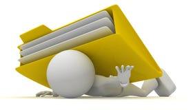 Hulp! Stock Foto's