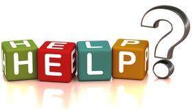 Hulp en steun vector illustratie