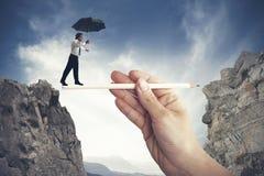 Hulp in uw zaken Stock Foto