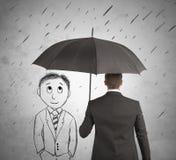Hulp in uw zaken Stock Afbeeldingen