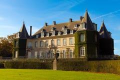 Hulpe del la del castillo francés Imagen de archivo