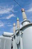 Hulpkantoorapparatuur met hoog voltage. Royalty-vrije Stock Fotografie