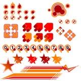 Hulpmiddel 01 van ontwerpers vector illustratie