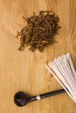 Hulpmiddel om pijpen schoon te maken Stock Foto