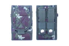 Hulpmiddel van de camouflage het Militaire zak Royalty-vrije Stock Foto's