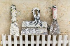 Hulpmiddel voor de reparatie van flats Stock Fotografie