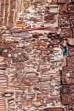 Hulpmiddelen bij Zondagmarkt - India Royalty-vrije Stock Afbeeldingen