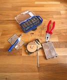 Hulpmiddelen en hardware Stock Afbeeldingen