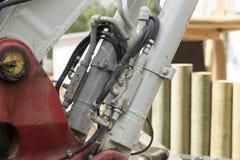 Hulpmiddelen en hydraulica stock foto's