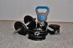 Hulpmiddelen voor huis het bodybuilding Royalty-vrije Stock Foto
