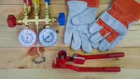 Hulpmiddelen voor HVAC stock foto's