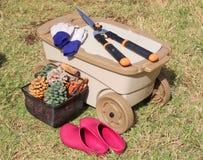 Hulpmiddelen voor tuin royalty-vrije stock afbeeldingen