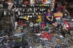 Hulpmiddelenmarkt in Bangkok Stock Fotografie