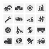 Hulpmiddelpictogrammen Stock Afbeeldingen