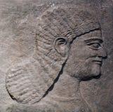Hulpplak van het paleis van tiglath-Pilesar III Royalty-vrije Stock Fotografie