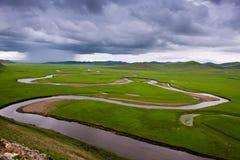 Hulun Buir preria obrazy stock