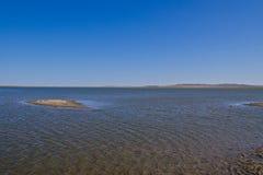 Hulun jezioro Zdjęcia Royalty Free