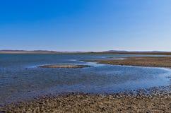 Hulun jezioro Obrazy Royalty Free
