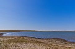 Hulun jezioro Zdjęcie Royalty Free