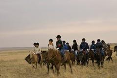 The hulunbuir prairie Royalty Free Stock Images