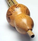 Hulusi. huluxiao dello strumento musicale Fotografia Stock