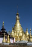 Hum Si Paya - Taunggyi - Myanmar (Burma) Royalty Free Stock Photo