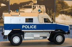 Hum-vee police stock images