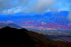 Humahuaca峡谷  库存照片