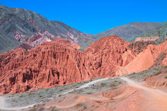 Humahuaca Valley Royalty Free Stock Photography