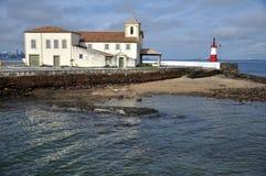 Humaita Strand und Leuchtturm Stockbilder
