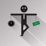 Human balance Royalty Free Stock Image