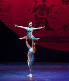 Human Ballet-Acrobatic showBaixi Dream Night Stock Photos