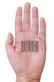 Human barcode Royalty Free Stock Image