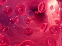 Human blood cells. 3d rendered, medically accurate illustration of human blood cells vector illustration