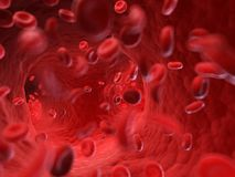 The human blood. 3d rendered, medically accurate illustration of the human blood stock illustration