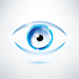 Human blue eye Stock Photos