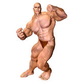 Human Body - Muscular Man Royalty Free Stock Image