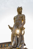 Human body statue in Florence Royalty Free Stock Photography