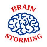Human brain, brainstorming concept - vector. Human brain, brainstorming concept – stock vector stock illustration